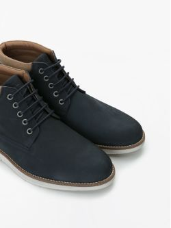 BREAK MID - NUBUCK - NAVY