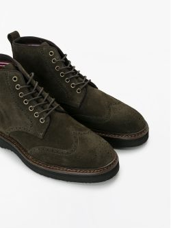 ROMA BOOTS - SUEDE - OLIVE