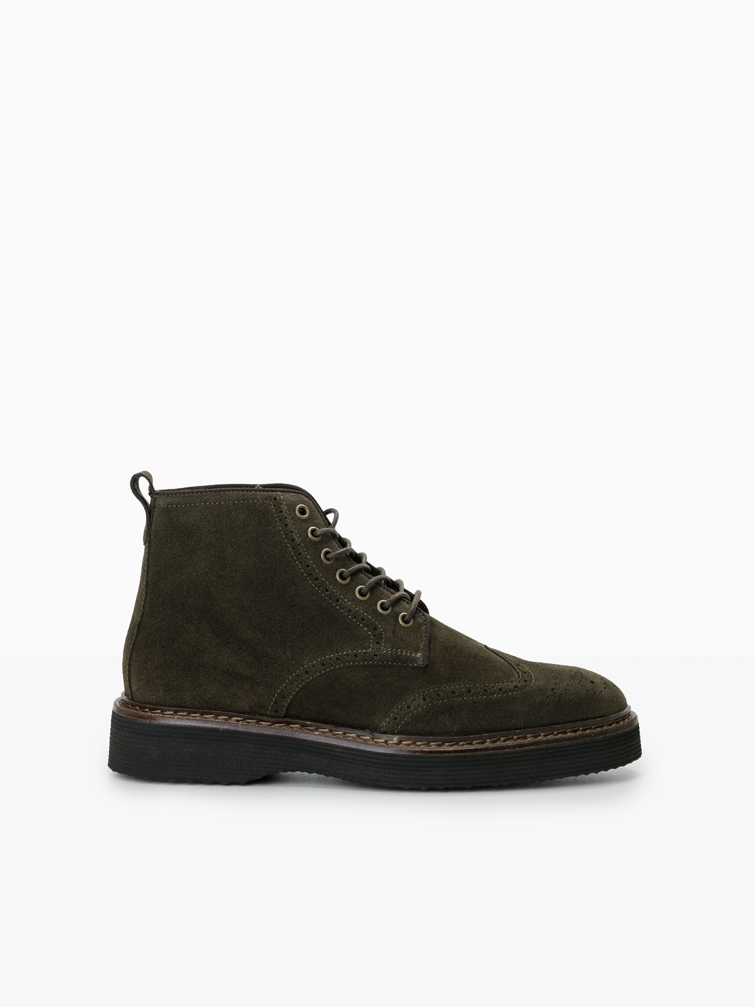 schmoove.fr ROMA BOOTS - SUEDE - OLIVE