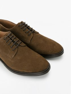 BANK DERBY - SUEDE - FANGO