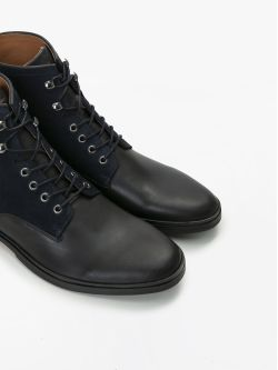 BANK MID - SPALATO/SUEDE - BLACK/NAVY