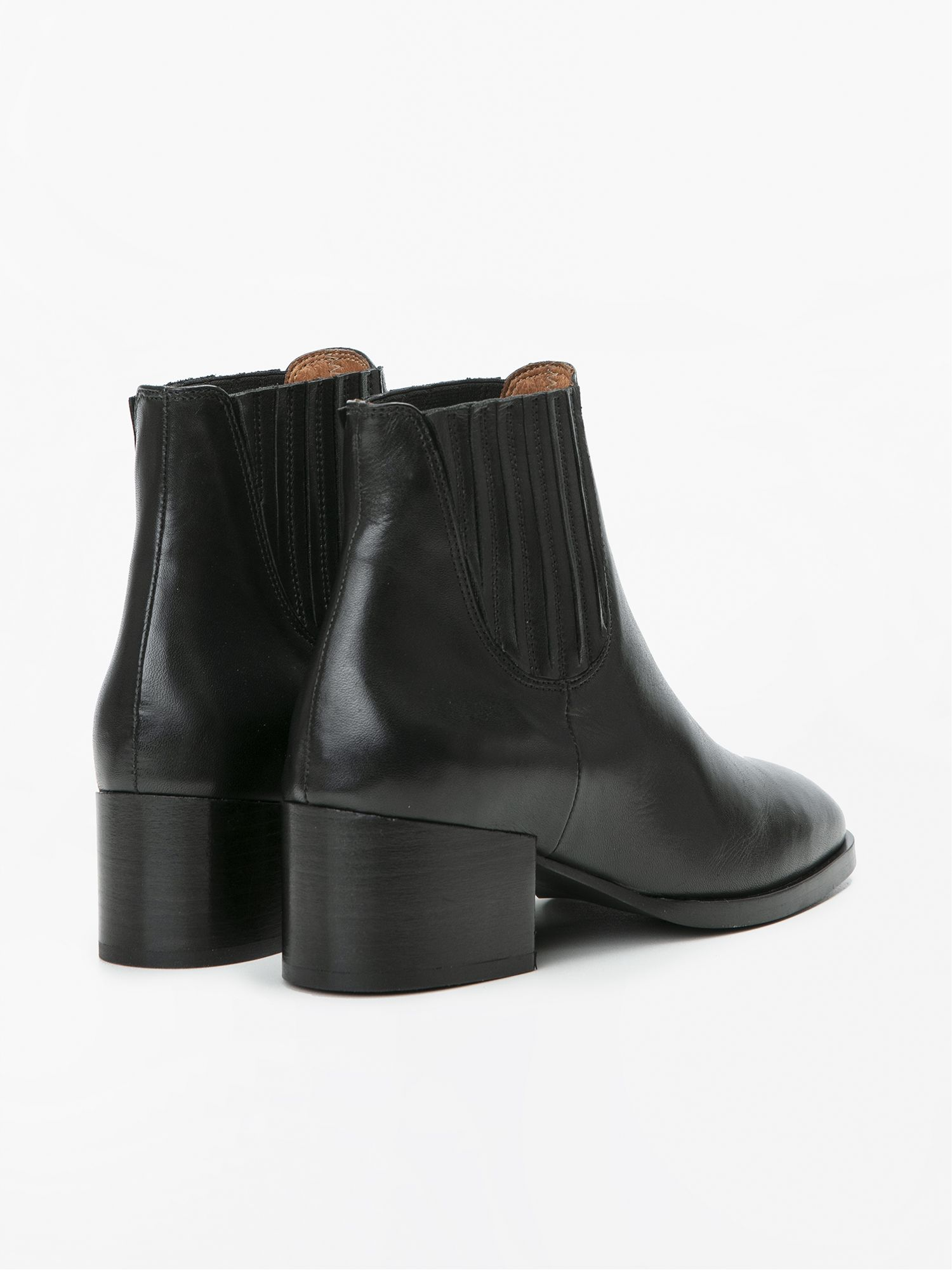 schmoove.fr GLORY CHELSEA - LEATHER - BLACK