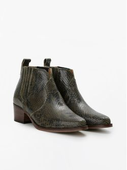 POLLY BOOTS - THUNDER - OLIVE