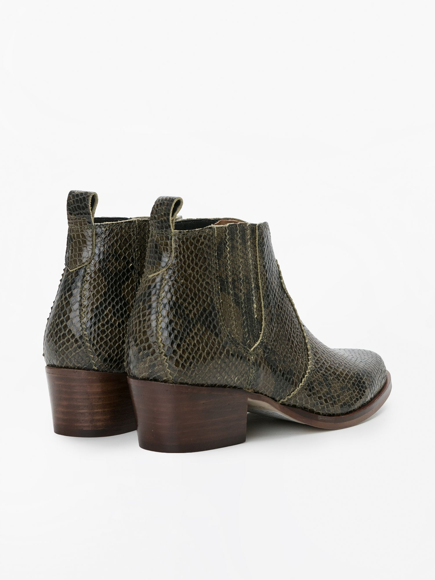 schmoove.fr POLLY BOOTS - THUNDER - OLIVE