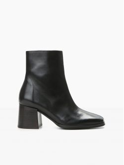 RITA BOOTS - LEATHER - BLACK