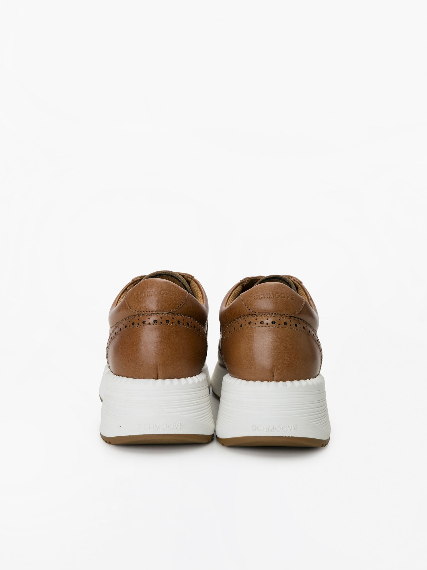 schmoove.fr STARTER PERFOS - SOFT LEATHER - TAN
