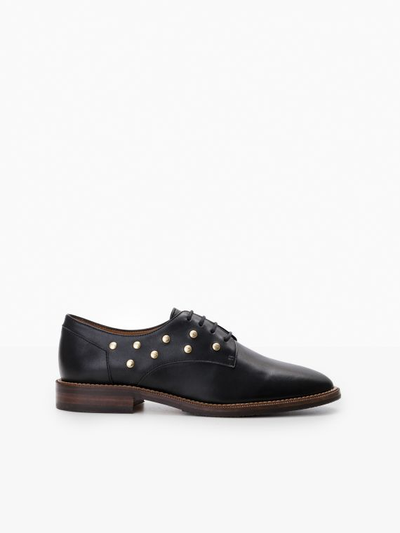 CALL LACE - STUDS CAPRI - BLACK
