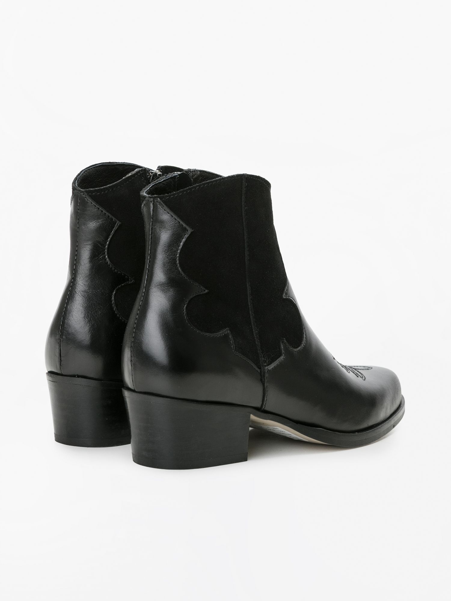 schmoove.fr POLLY WEST - LOUXOR/SUEDE - BLACK/BLACK