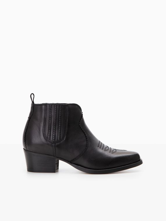 POLLY BOOTS - SAUVAGE - BLACK