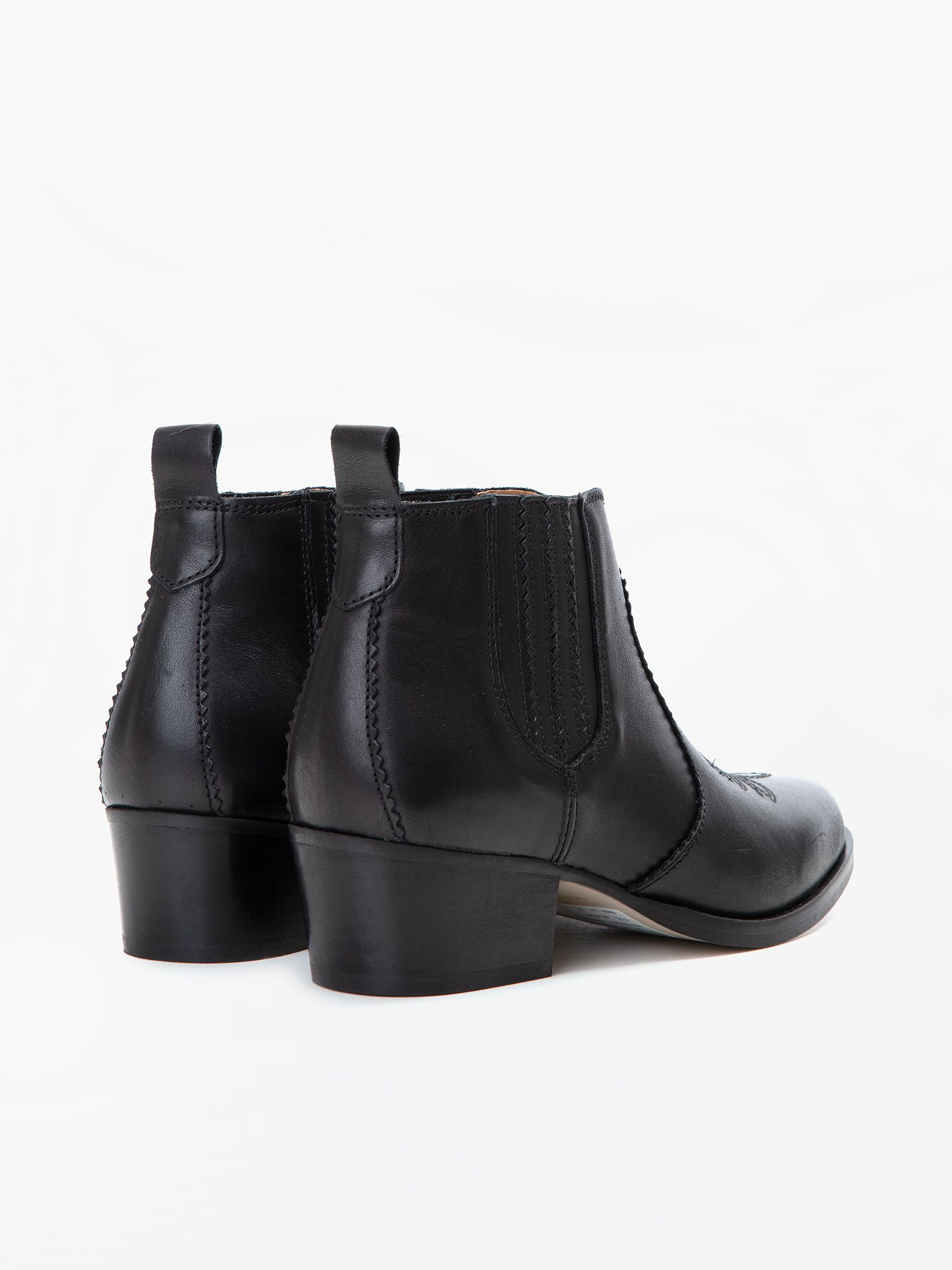schmoove.fr POLLY BOOTS - SAUVAGE - BLACK