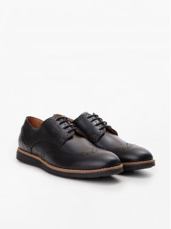 Prism Brogue - Ciclon - Black