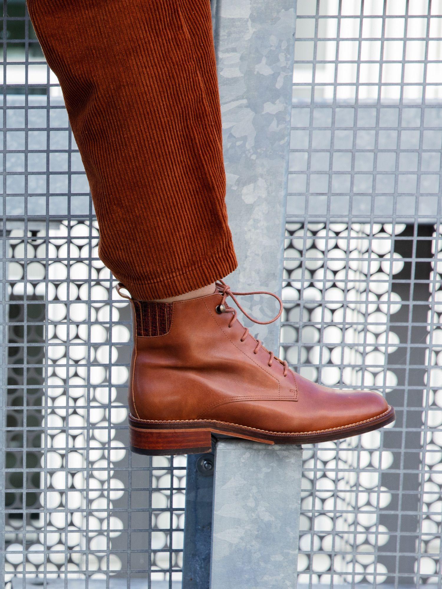 schmoove.fr Candide Desert Boots - Brezza - Cognac
