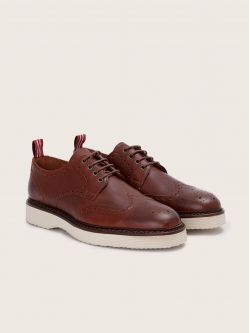 ROMA PERFO - ANTIK - COGNAC SOLE DOVE