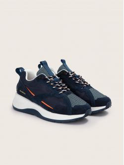 STARTER SPEED - SUEDE - NAVY/ARDOISE