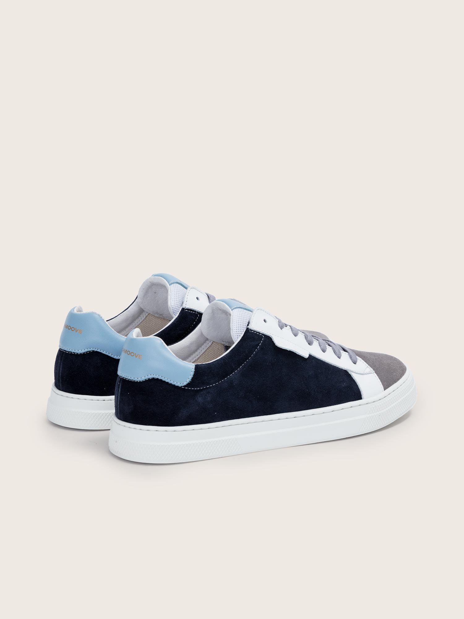 schmoove.fr Spark Clay - Suede/Nappa - Azul/Artik