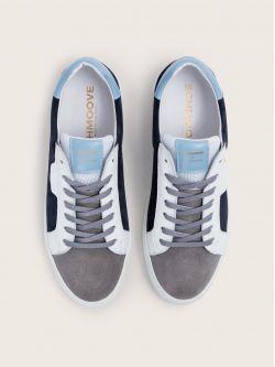 Spark Clay - Suede/Nappa - Azul/Artik