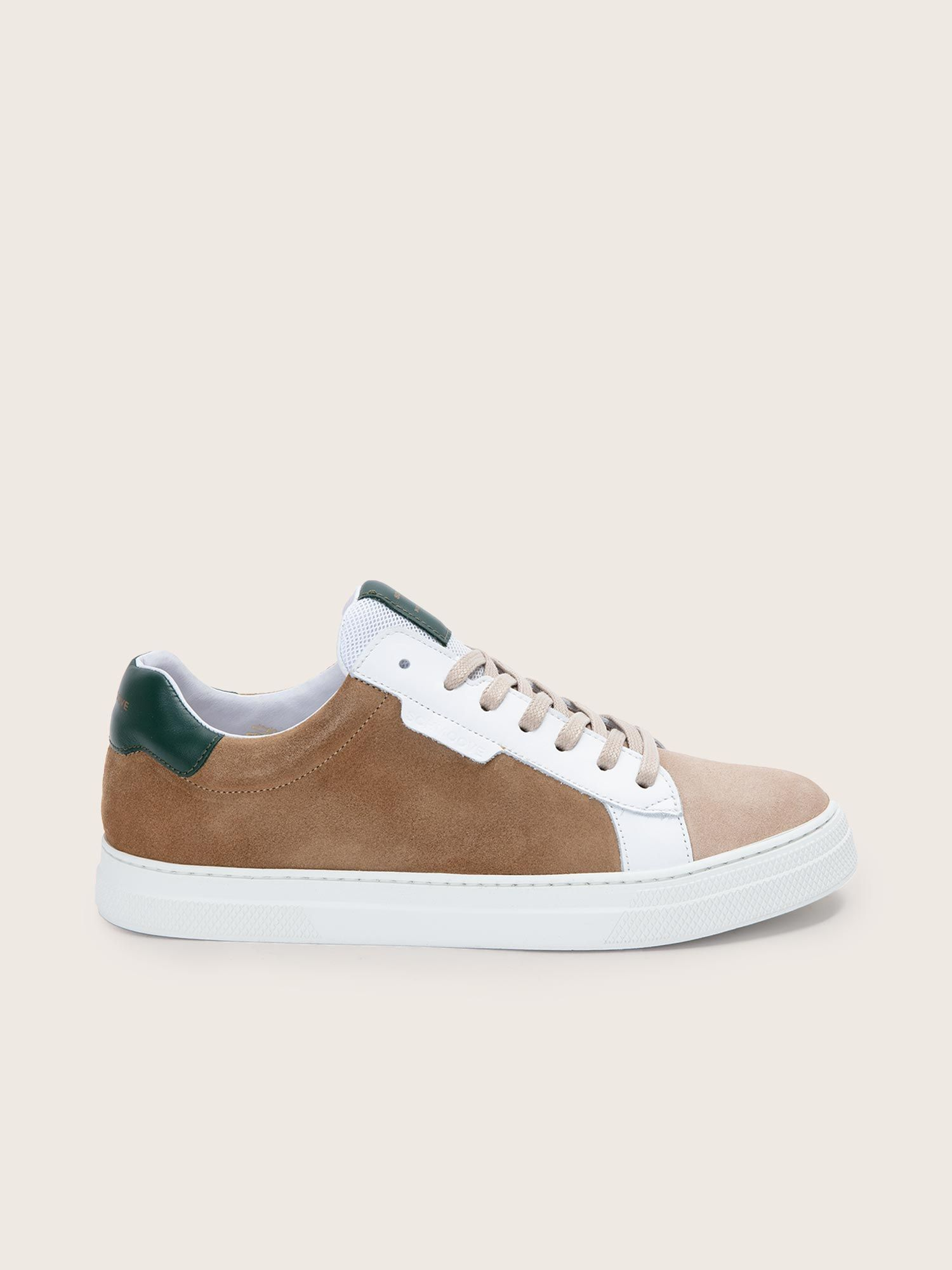 schmoove.fr SPARK CLAY - SUEDE/NAPPA - MUSHROOM/FORET