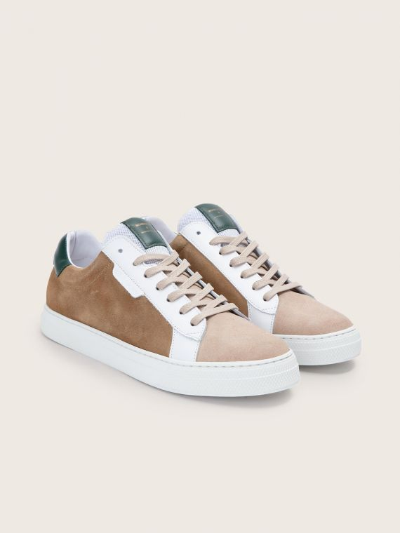 SPARK CLAY - SUEDE/NAPPA - MUSHROOM/FORET