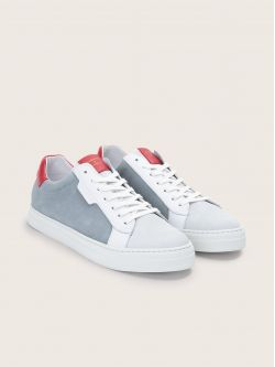 SPARK CLAY - SUEDE/NAPPA - ARTIK/RED