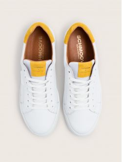 Spark Clay - Nappa/Suede - White/Safran