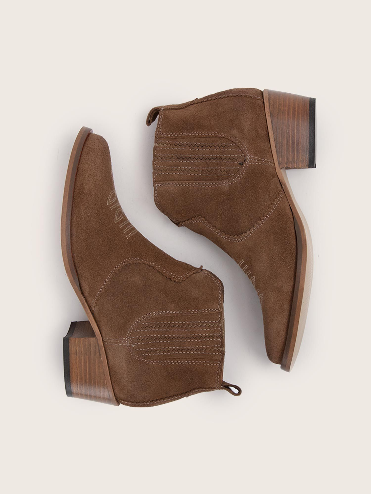 schmoove.fr Polly Boots - Cowsuede - Taupe