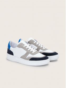 EVOC SNEAKER - SUEDE/NAPPA - NIGHT BLUE/WHITE