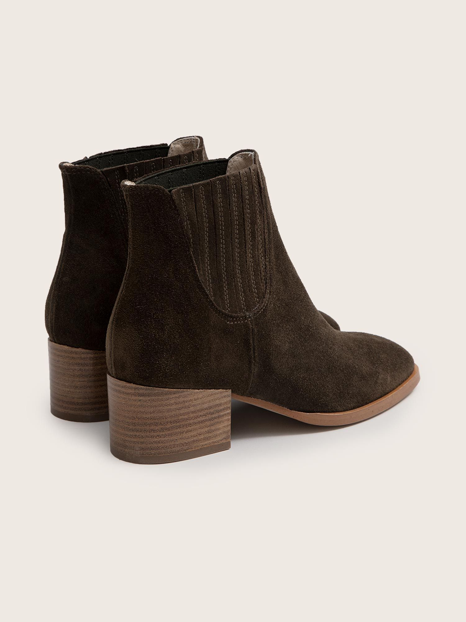 schmoove.fr Glory Chelsea - Cowsuede - Olive