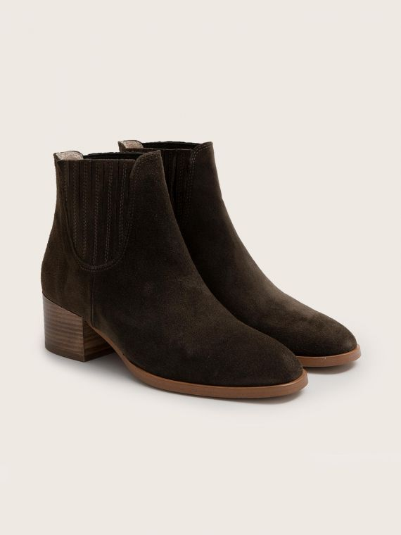 Glory Chelsea - Cowsuede - Olive