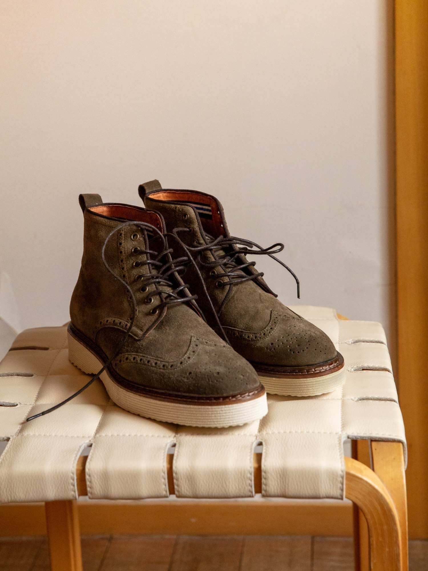 schmoove.fr ROMA BOOTS - SUEDE - FORET SOLE DOVE