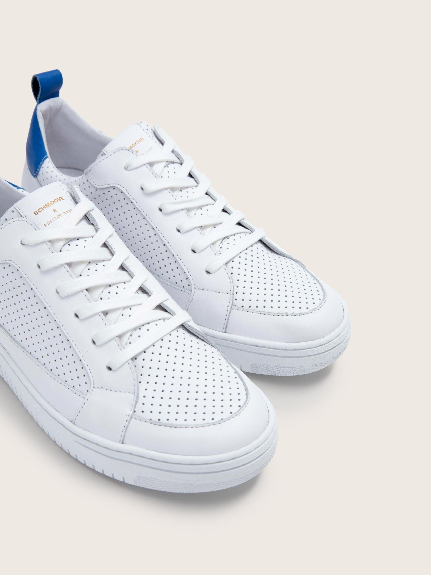 schmoove.fr EVOC CLUB - PUNCH NAP/NAPPA - WHITE/ELEC.BLUE **WM