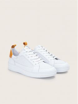 EVOC CLUB - PUNCH NAP/NAPPA - WHITE/SAFRAN **WM