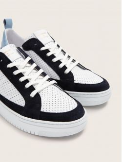 EVOC CLUB - SUEDE/PUNCH NAP - NAVY/WHITE