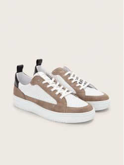 EVOC CLUB - SUEDE/PUNCH NAP - SABLE/WHITE