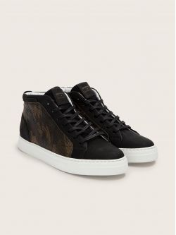 SPARK MID - NUBUCK/ARMY - BLACK/BROWN