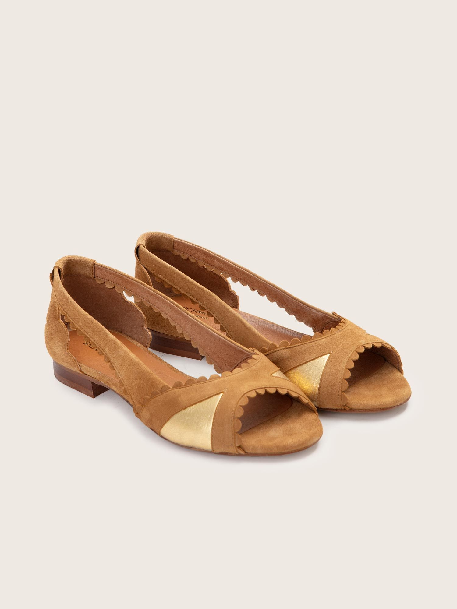 schmoove.fr Retro Pump - Kid Suede - Antilope