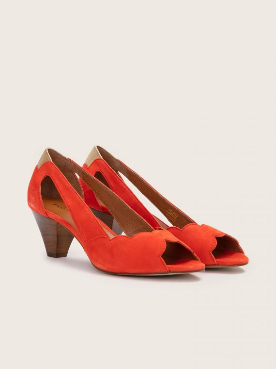 Circus Pump - Kid Suede - Flamenco