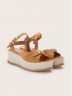 Nelly Sandal - Kid Suede - Antilope