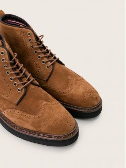 Roma Boots - Suede - Cigaro