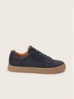 SPARK CLAY - NUBUCK - NAVY SOLE L.GOMME