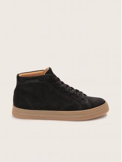 SPARK MID - NUBUCK - BLACK SOLE L.GOMME