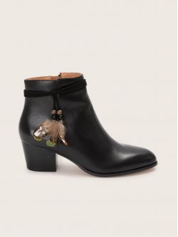 STORY BOOTS - CALF - BLACK