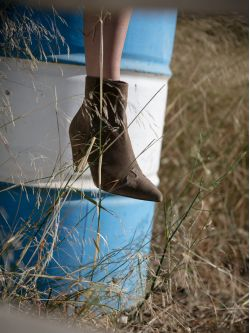 ARIZONA BOOTS - SUEDE - TAUPE