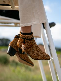 STORY BOOTS - PONY GUEPARD - CAMEL