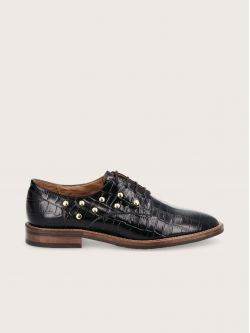 CALL LACE - PRINT CROCO - BLACK