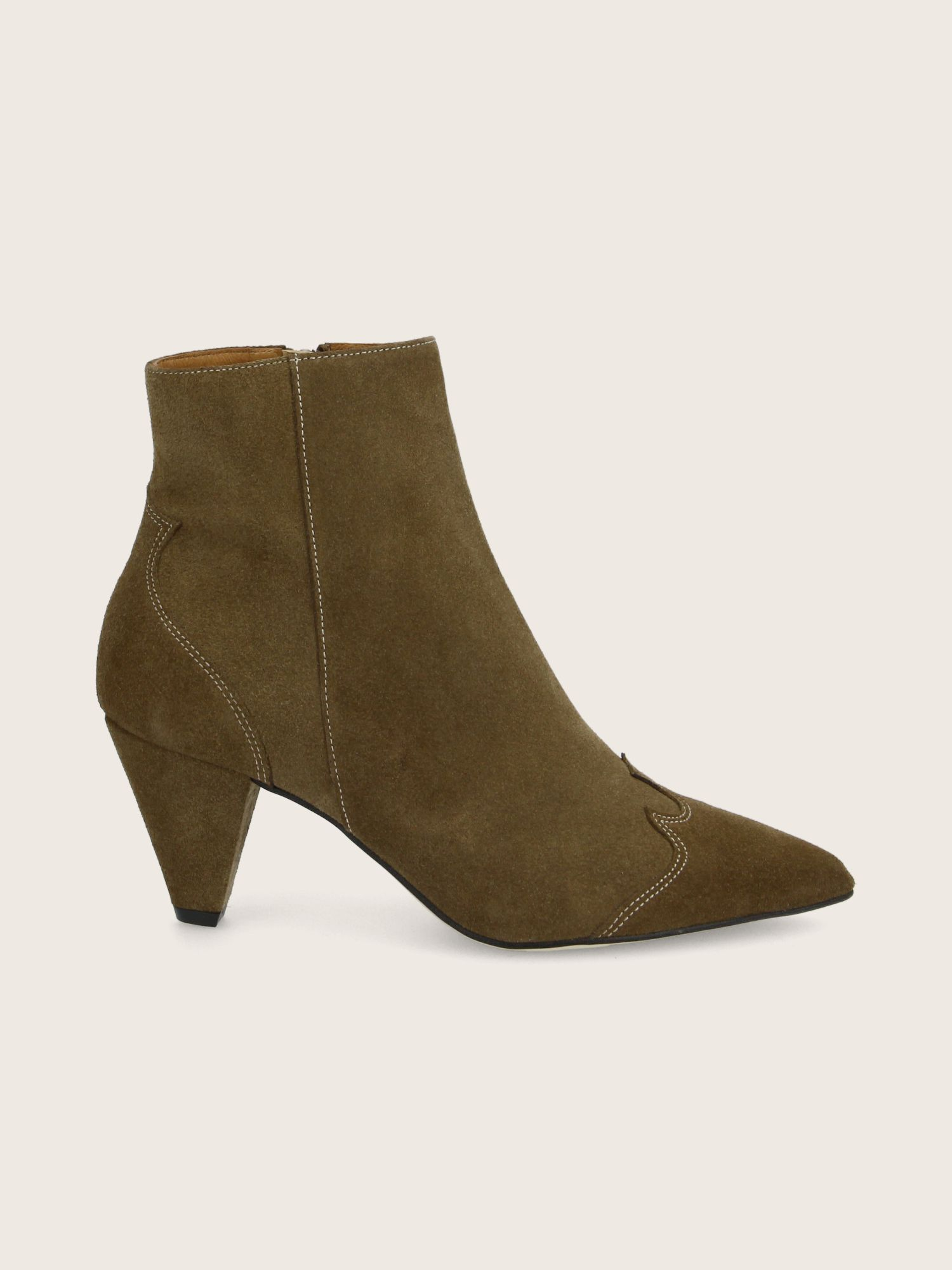 schmoove.fr ARIZONA BOOTS - SUEDE - TAUPE