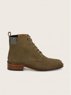 CANDIDE DESERT BOOTS - SUEDE/DEMBA - TAUPE