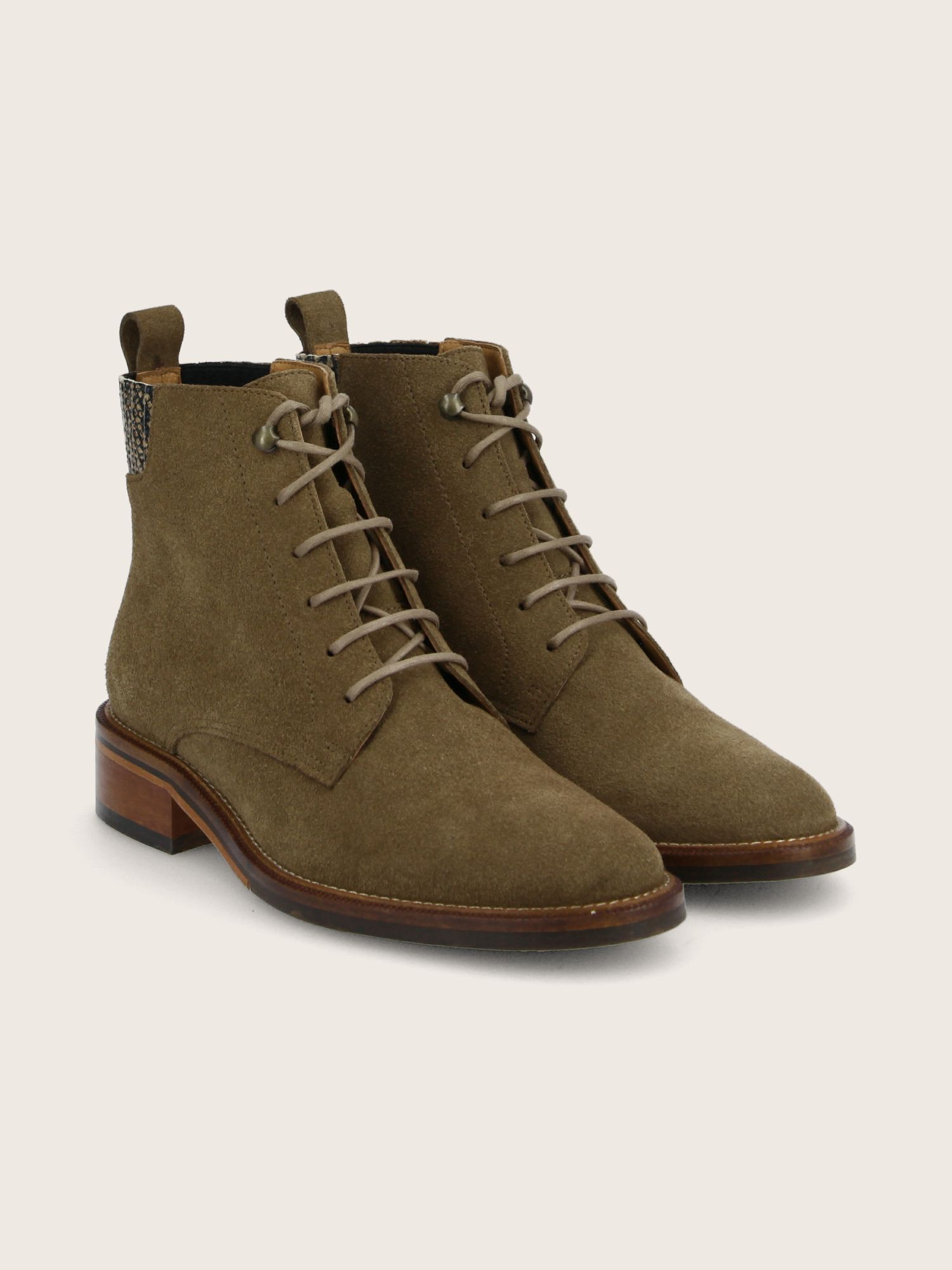 schmoove.fr CANDIDE DESERT BOOTS - SUEDE/DEMBA - TAUPE