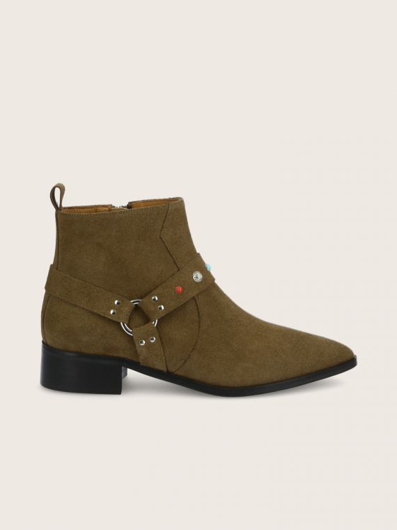 PHENIX BOOTS - SUEDE - TAUPE