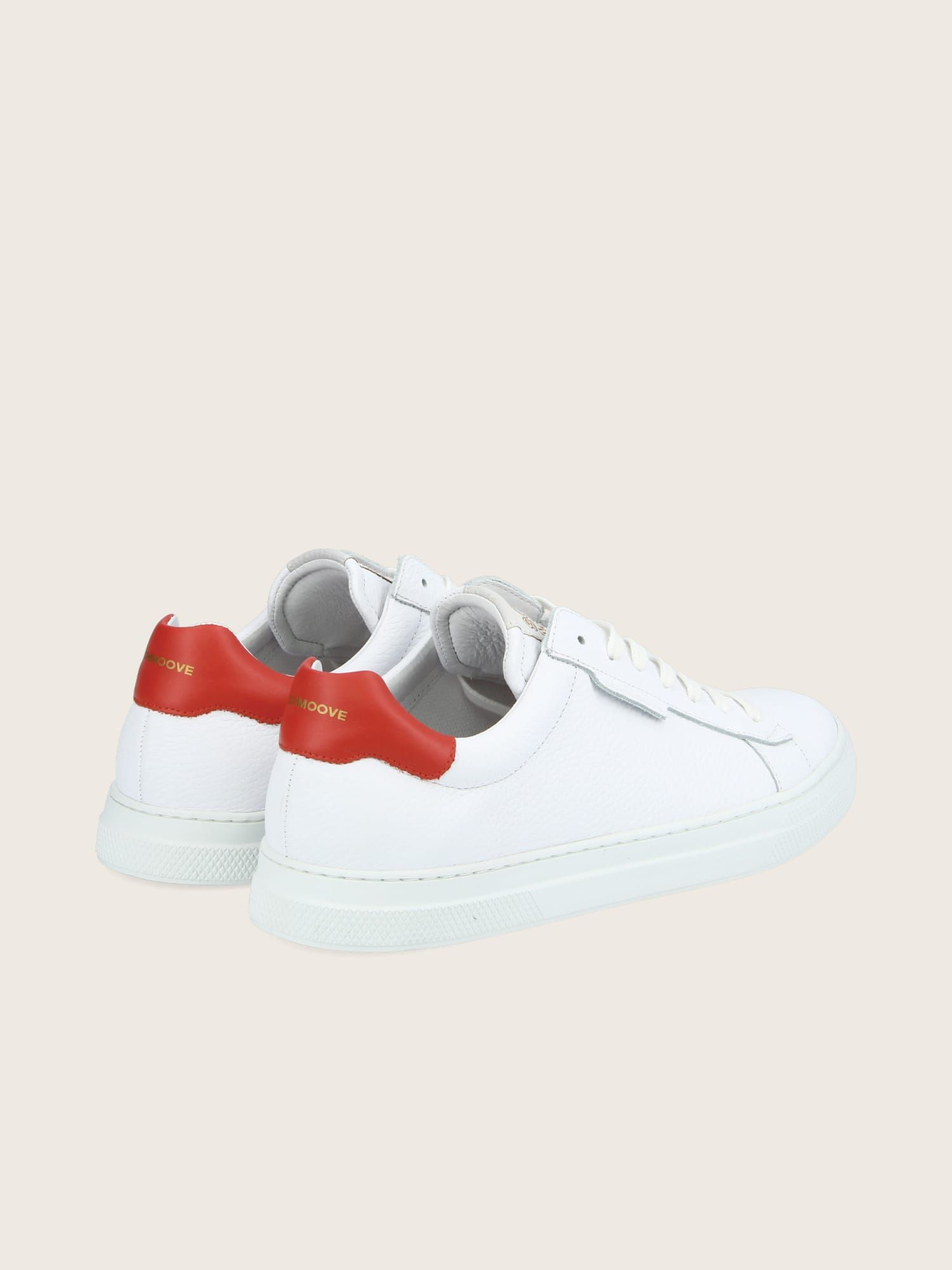 schmoove.fr SPARK CLAY - GR.NAPPA/NAPPA - WHITE/RED **WM