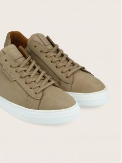 SPARK CLAY - NUBUCK - TAUPE SOLE WHITE**WM